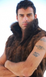 Cut Mink and Leather Vest